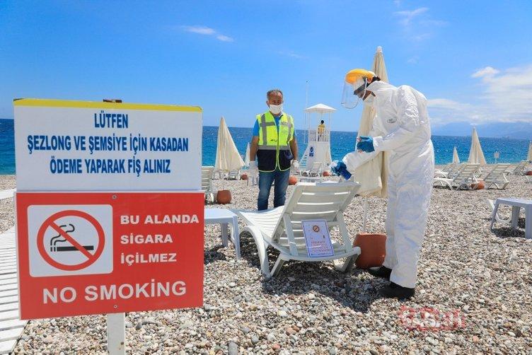 Son dakika! Konyaaltı Sahili'ndeki 'yeni düzen' tamamen şekillendi! İşte gelen son fotoğraflar...