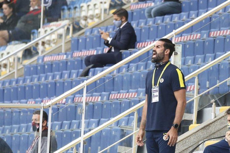 Volkan Demirel'in maç sonu görüntüsü olay oldu!