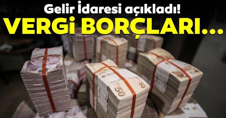 Vergi borçlu listesindeki ilk 100'ün borcu 44,3 milyar lira!