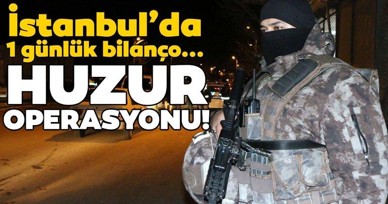 İstanbulda Yeditepe Huzur uygulamasında 25 bin kişi sorgulandı 150 bin TL ceza kesildi