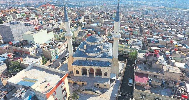 Büyükşehir cami yapıyor
