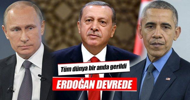 Dünya gerildi! Erdoğan devrede