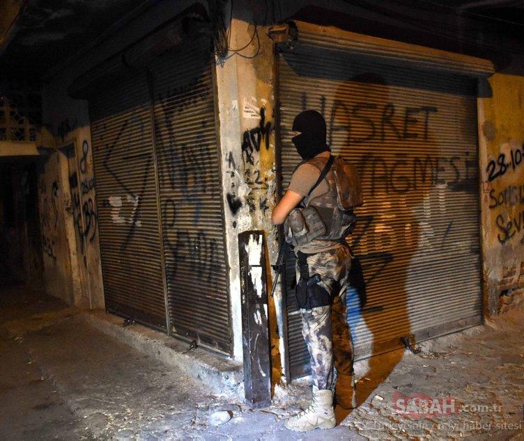 Adana'da silahlı organize suç örgütüne operasyon