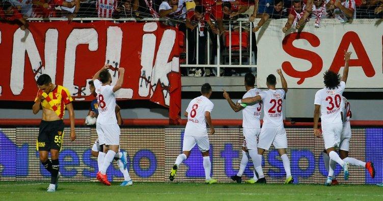 Antalyaspor, Diego Angelo ile 3 puana uzandı