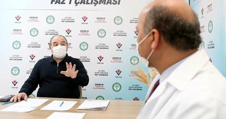 Bakan Varank, VLP temelli Covid-19 aşısı için gönüllü oldu