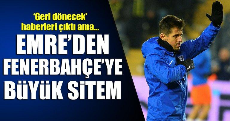 Emre Belözoğlu'ndan Fenerbahçe'ye sitem!