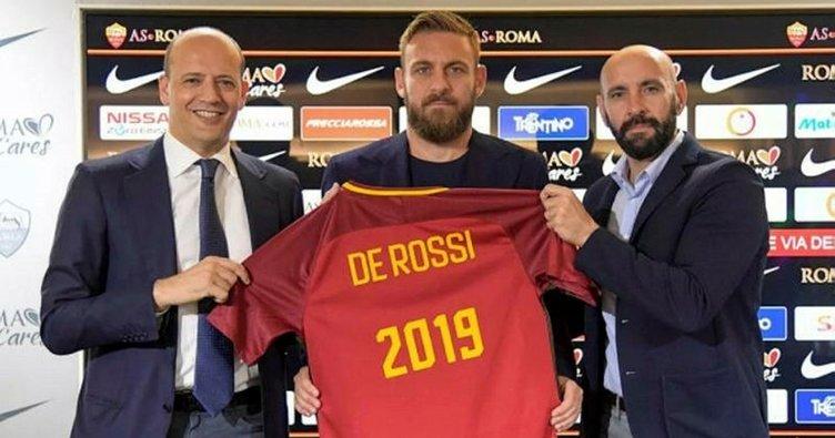 Roma, De Rossi ile sözleşme yeniledi