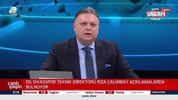 Rıza Çalımbay, Fenerbahçe maçı öncesi konuştu!