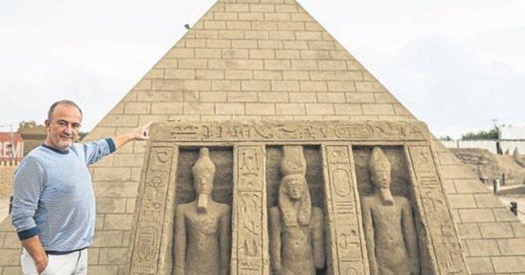 Kumdan piramit Guinness'e aday