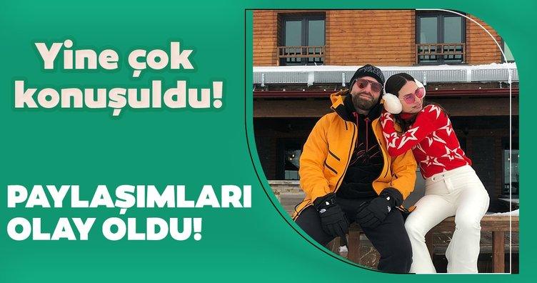 Yasemin Özilhan ve İzzet Özilhan'ın paylaşımları olay oldu!