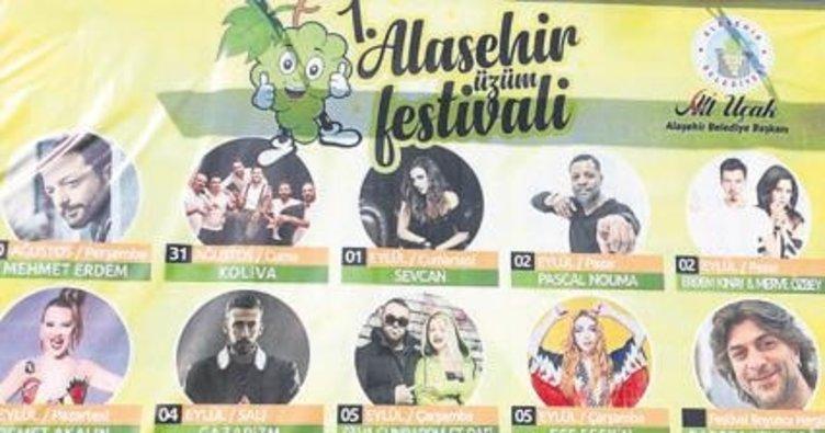 Alaşehir'den üzüm festivali'ne davet