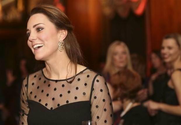 Kate Middleton'ın bebeği göründü