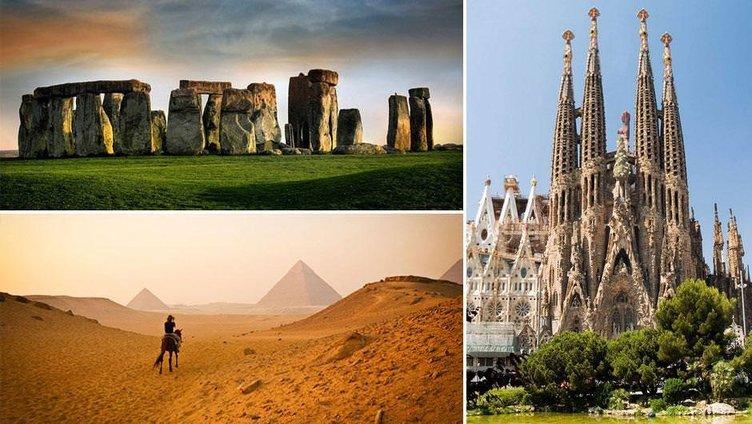 Dünyanın en ünlü yerlerinin çevresi