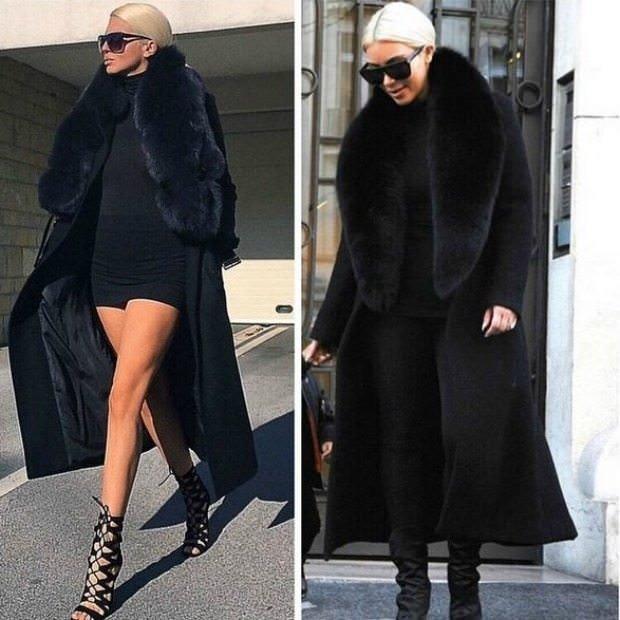 Kim Kardashian Gençlerbirliği'nin yengesini taklit ediyor