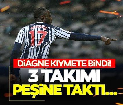 Son dakika: Mbaye Diagne Premier Lig'de kıymete bindi! 3 kulübü peşine taktı...