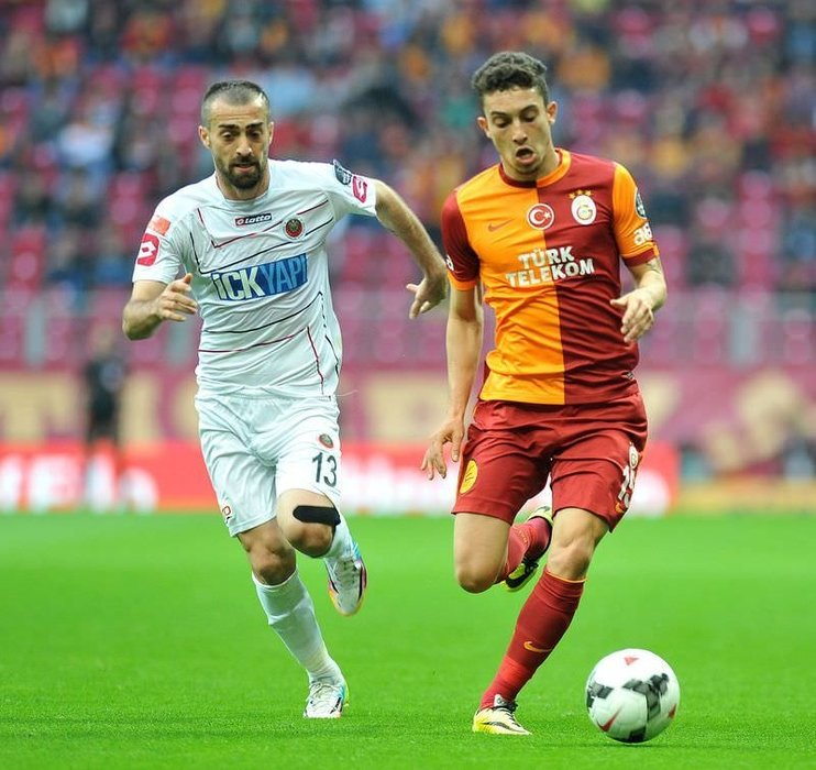 Galatasaray - Gençlerbirliği maçından fotoğraflar