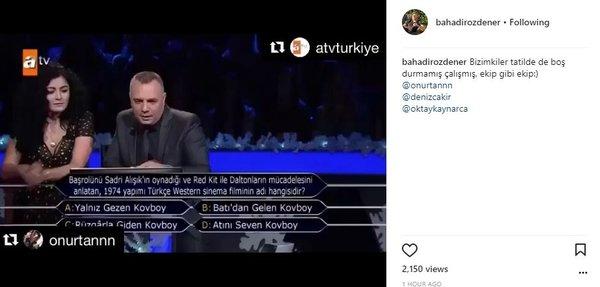 Ünlülerin Instagram paylaşımları (03.01.2018)