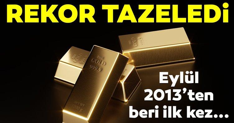 Altın fiyatları Eylül 2013'ten beri en yüksek seviyesine çıktı!