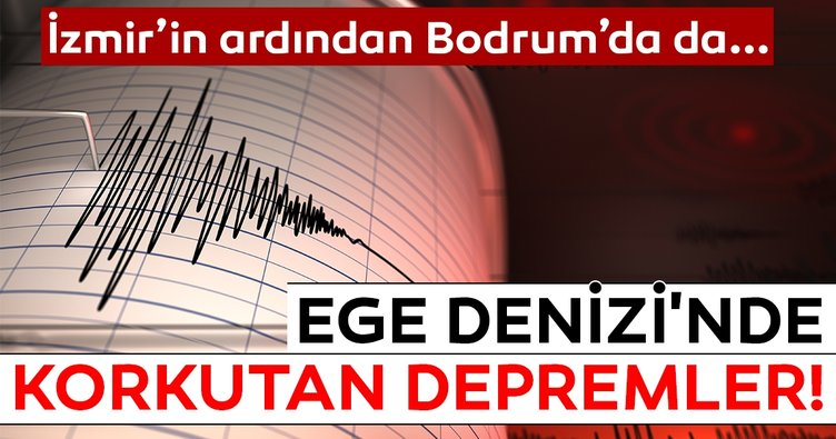 Son Dakika: Bodrum'da deprem! Gökova'da 4 şiddetinde deprem meydana geldi