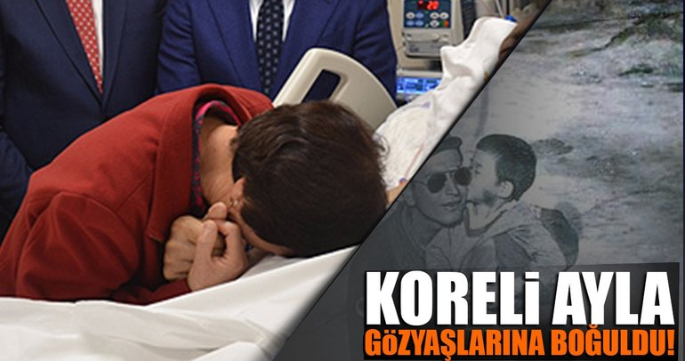 Koreli 'Ayla'dan gazi babasına ziyaret