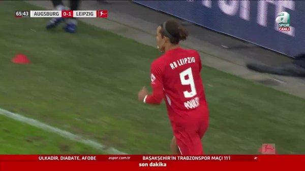 GOL   Augsburg 0-2 RB Leipzig