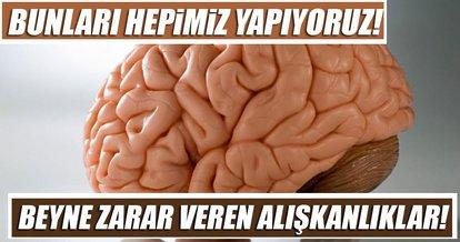 Beyne zarar veren alışkanlıklar