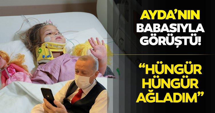 Başkan Erdoğan Ayda'nın babasıyla görüştü!