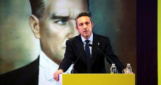 Son dakika... Fenerbahçe Başkanı Ali Koç'tan transfer sinyali!