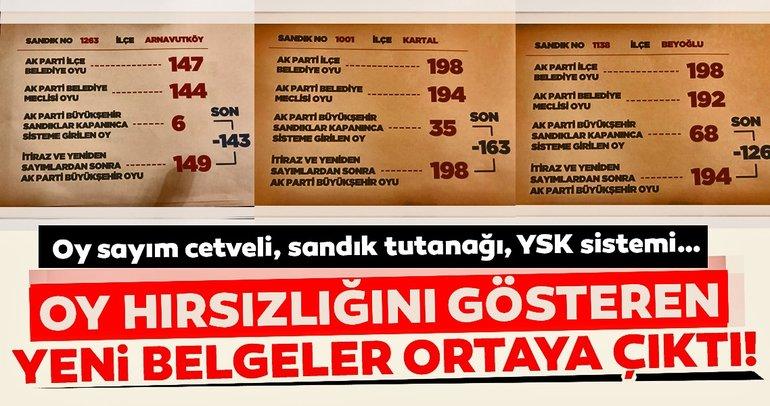Zarflardan çıkan Binali Yıldırım'ın oyları YSK sistemine girilmemiş