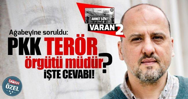 Ahmet Şık'ın ağabeyi 'PKK Terör örgütüdür' diyemedi