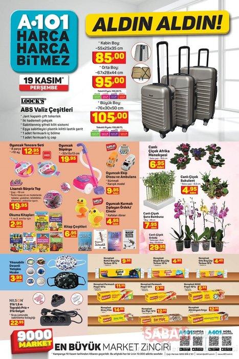 A101 19 Kasım 2020 aktüel ürünler kataloğu ile keyifli alışverişler! A101 kataloğunda bu hafta hangi ürünler indirimde olacak?
