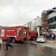 Son dakika: İstanbul Pendik'teki AVM'de yangın çıktı