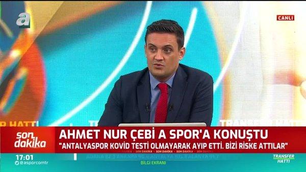 Beşiktaş Başkanı Ahmet Nur Çebi'den Antalyaspor'a sitem!