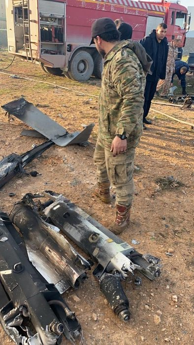 Libya'da darbeci Hafter'e ait SİHA UMH tarafından düşürüldü