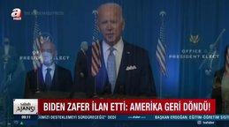 Son Dakika: ABD seçim sonuçları kesinleşiyor! Joe Biden'ın kabinesi nasıl olacak?   Video