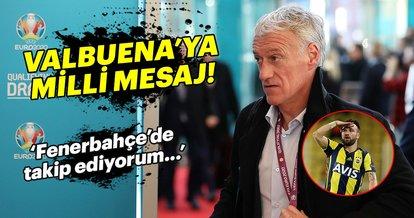 Didier Deschamps'tan Valbuena'ya milli mesaj!