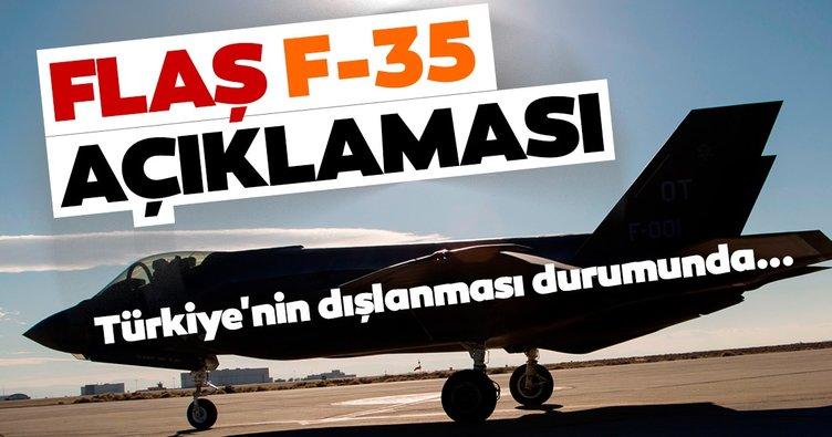 Son dakika: Savunma Sanayi Başkanı'ndan F-35 açıklaması