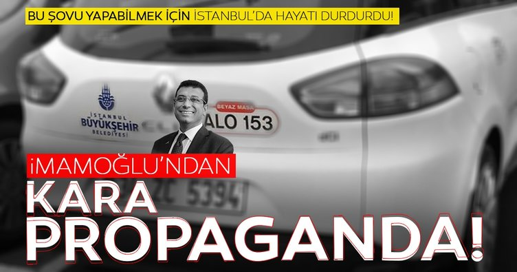 Göksu: Ekrem İmamoğlu araç fantazisi uğruna İstanbul'da hayatı durdurmuştur!