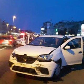 Yarım saat arayla ikinci kazayı yaptı 2 yaralı