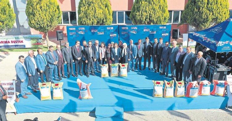 Gaziantep'te üç bin çiftçiye destek
