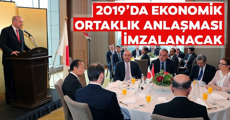 2019'da ekonomik ortaklık anlaşması imzalanacak