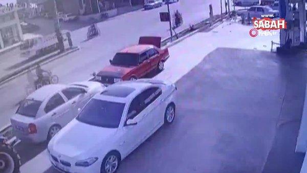 Sürücüsüz traktör ortalığı savaş alanına çevirdi | Video