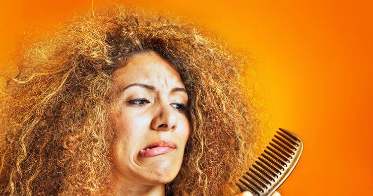 Kabaran saçlar için çözümler!