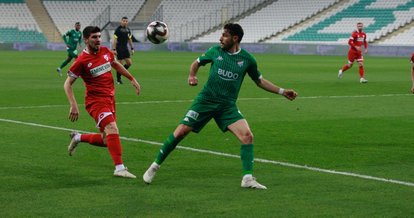 Bursaspor 1 - 1 Boluspor MAÇ SONUCU