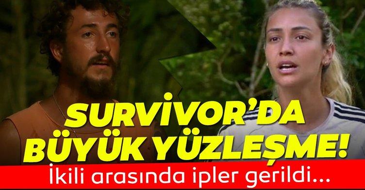Survivor canlı yayından son dakika! Evrim ve Berkan arasında tansiyon yükseldi! Naylon Kumaş benzetmesi sonrası büyük yüzleşme!