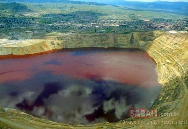 Dünyanın en zehirli gölü!
