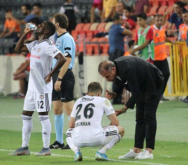Kırmızı kart gören Kayode Beşiktaş maçında nasıl oynadı?