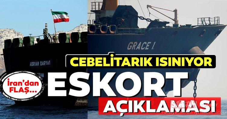 İran donanması, alıkonulan petrol tankerine eskortluk yapmak için hazır