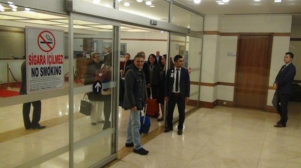 Nobel ödüllü Aziz Sancar Türkiye'ye geldi