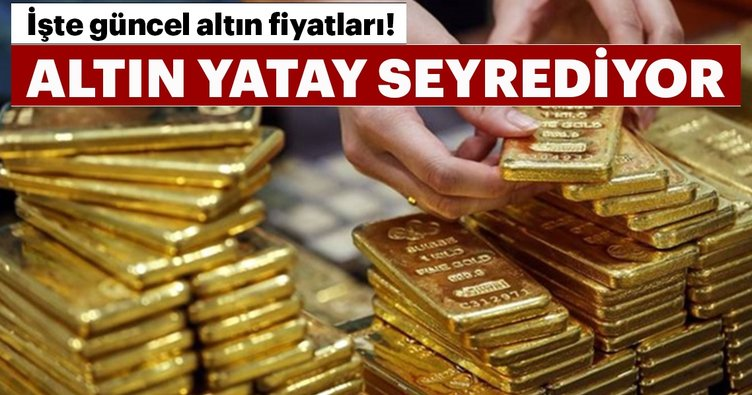 Gram altın 221 lira seviyelerinde! İşte güncel altın fiyatları
